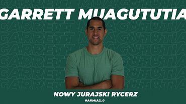 Garrett Muagututia, nowy siatkarz Aluronu Virtu CMC Zawiercie