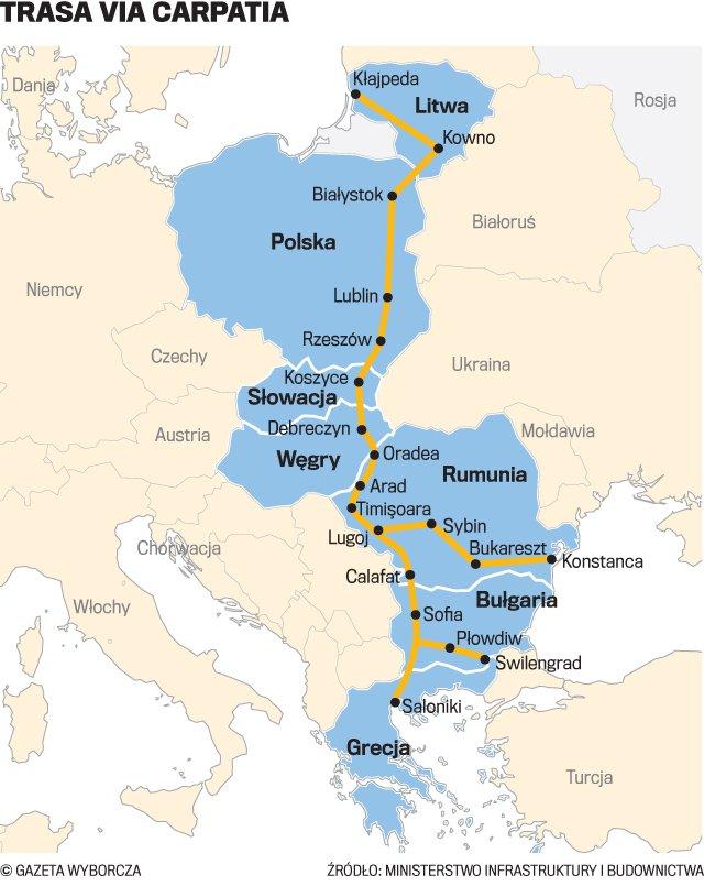 Via Carpatia Nowa Droga Przez Wschodnia Polske Marzenia Sie
