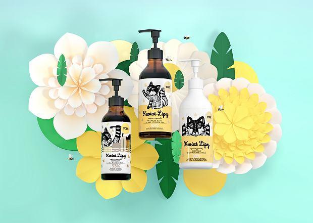 Yope kosmetyki z linii Kwiat Lipy