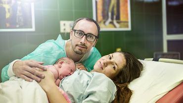 Tata na porodówce