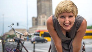 Katarzyna Zwolak, podróżniczka rowerzystka, autorka bloga girlonbike.co