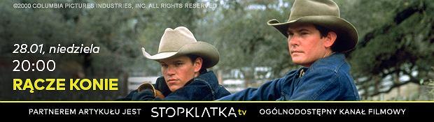 Rącze konie (2000), reż. Billy Bob Thornton, materiały partnera, Stopklatka TV