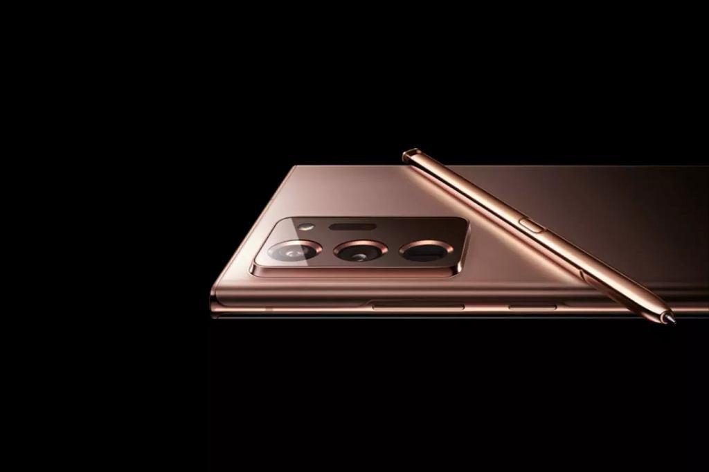 Galaxy Note 20 na stronie rosyjskiego oddziału Samsunga