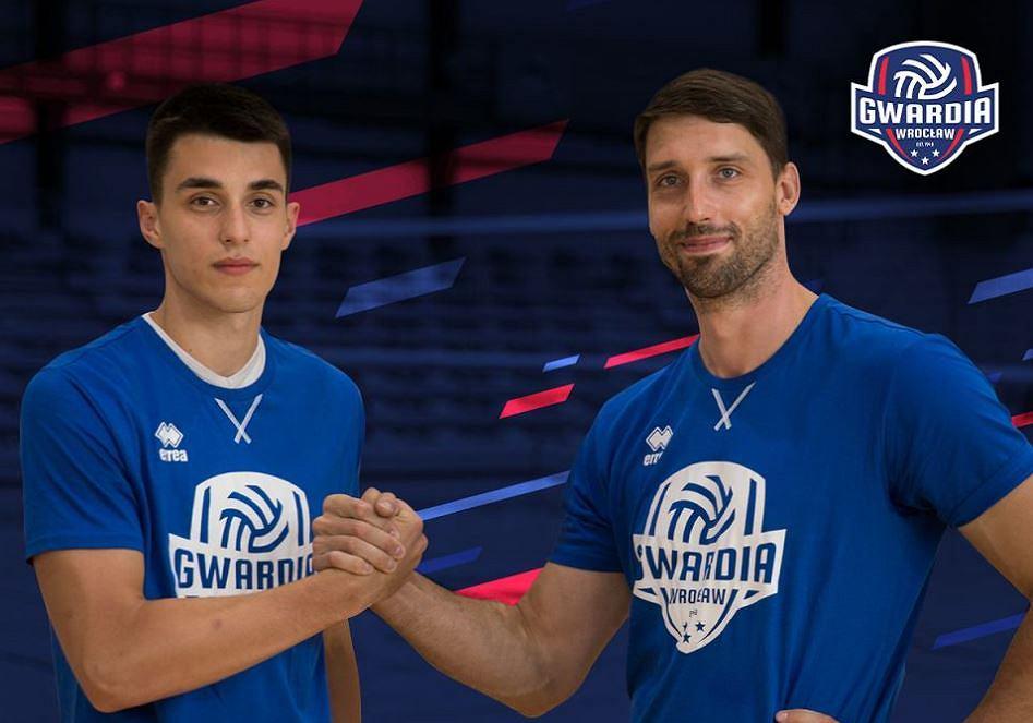Kacper Wnuk i Marcel Gromadowski wzmocnili Gwardię Wrocław
