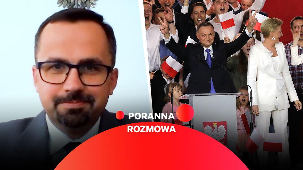 Marcin Horała w Porannej Rozmowie Gazeta.pl