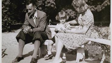 Roman Czarnecki z żoną i córką