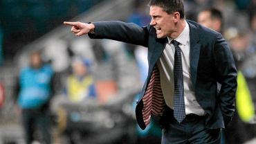 Trener Mariusz Rumak już nie musi się tak denerwować
