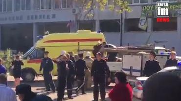 Krym. Wybuch w szkole w Kerczu