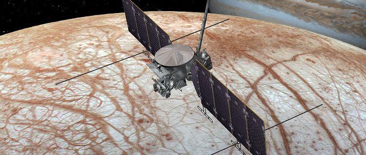 Sonda poszuka życia na Europie, księżycu Jowisza