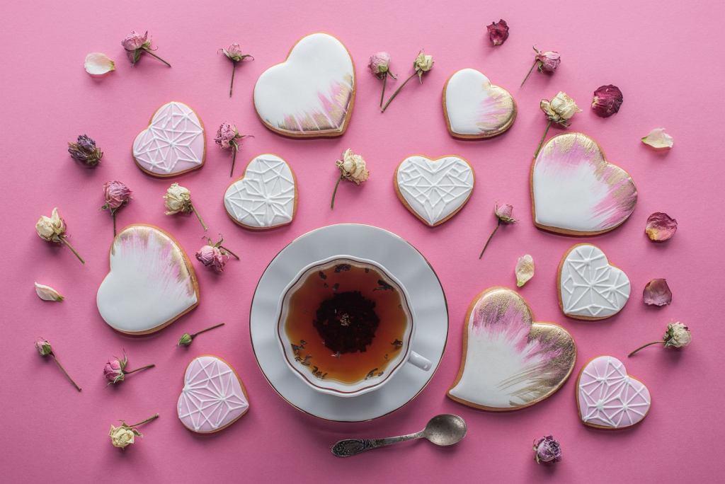 Walentynkowe ciasteczka maślane