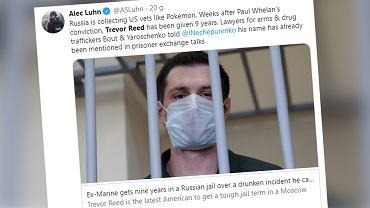 29-letni Trevor Reed skazany na dziewięć lat kolonii karnej w Rosji
