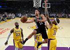 NBA. Los Angeles Lakers przegrali z San Antonio Spurs. W dogrywce prowadzili już sześcioma punktami