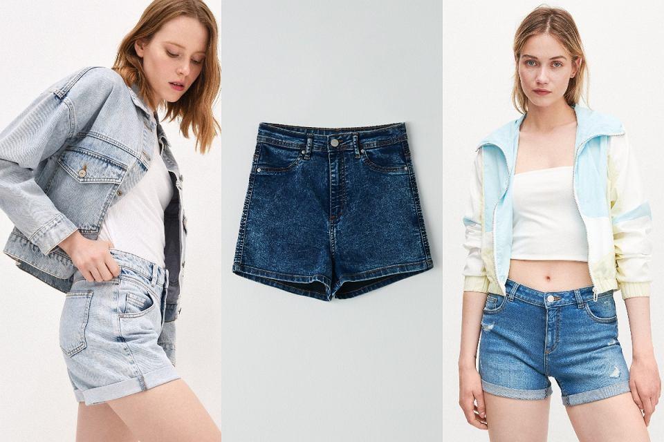 Klasyczne szorty jeansowe
