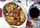 Racuszki INDIA z passatą z pieczonych pomidorów i papryki - Zdjęcia
