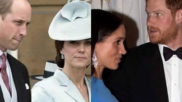 Księżna Meghan i książę Harry nie poproszą Kate i Williama na chrzestnych
