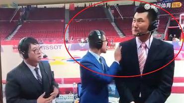 Chiński komentator popłakał się na wizji po meczu z Polską