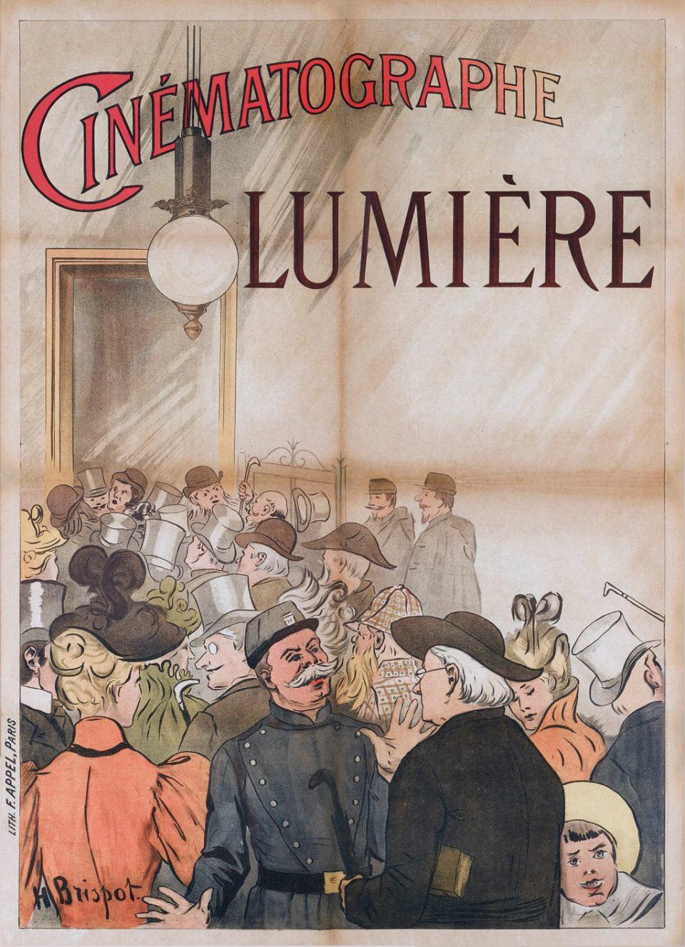 Cinematographe Lumiere 1895.