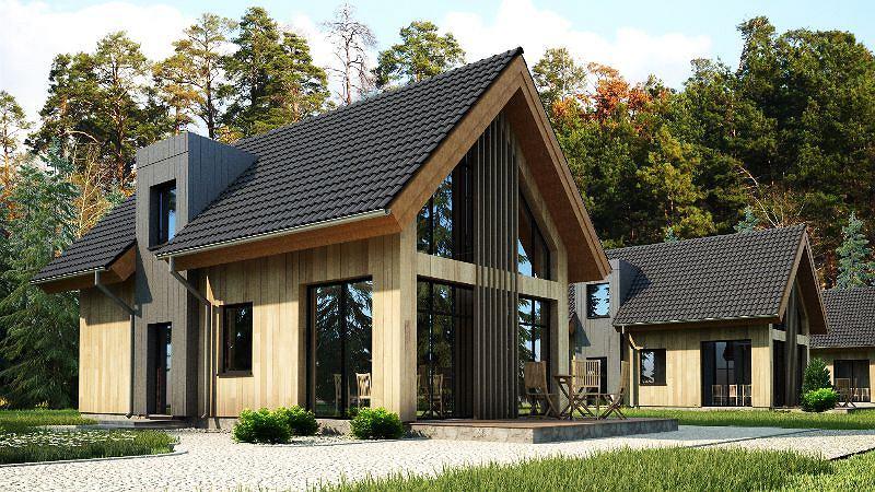 Projekt domu Tomek3 - wizualizacja