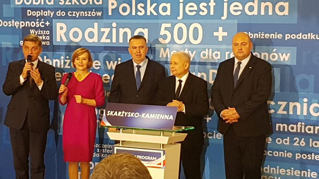 Spotkanie z Jarosławem Kaczyńskim w Skarżysku-Kamiennej, fot. Gazeta.pl, fot. Gazeta.pl