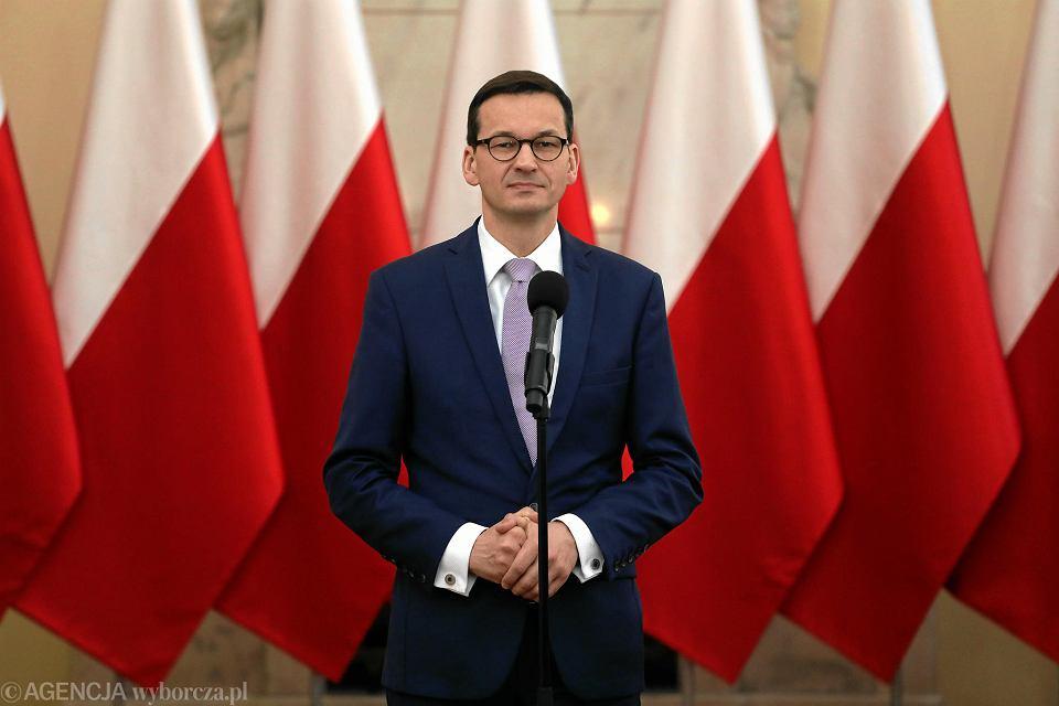 Premier Mateusz Morawiecki.