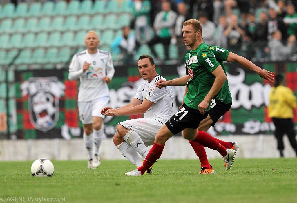 Tomasz Balul w barwach GKS-u Tychy