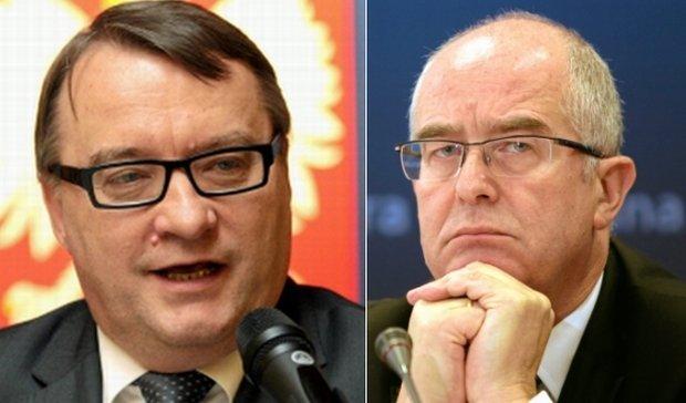 Marek Biernacki i Andrzej Seremet
