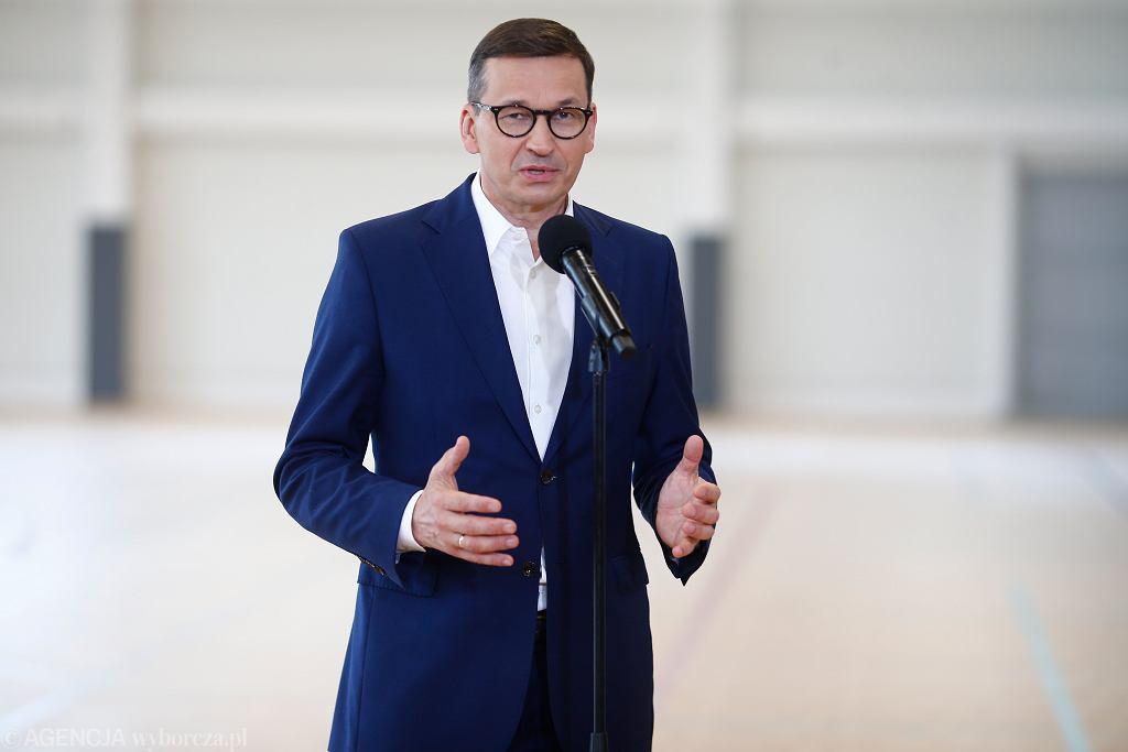 Mateusz Morawiecki 19 lipca odwiedzi województwo świętokrzyskie i łódzkie
