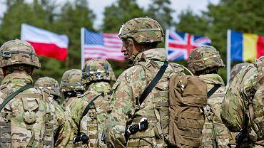 13.04.2017 Oficjalne powitanie wojsk NATO na poligonie w Orzyszu