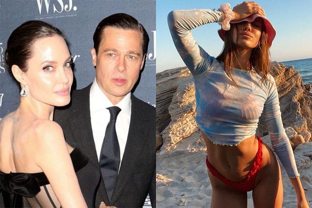 Brad Pitt, Angelina Jolie, Nicole Poturalski