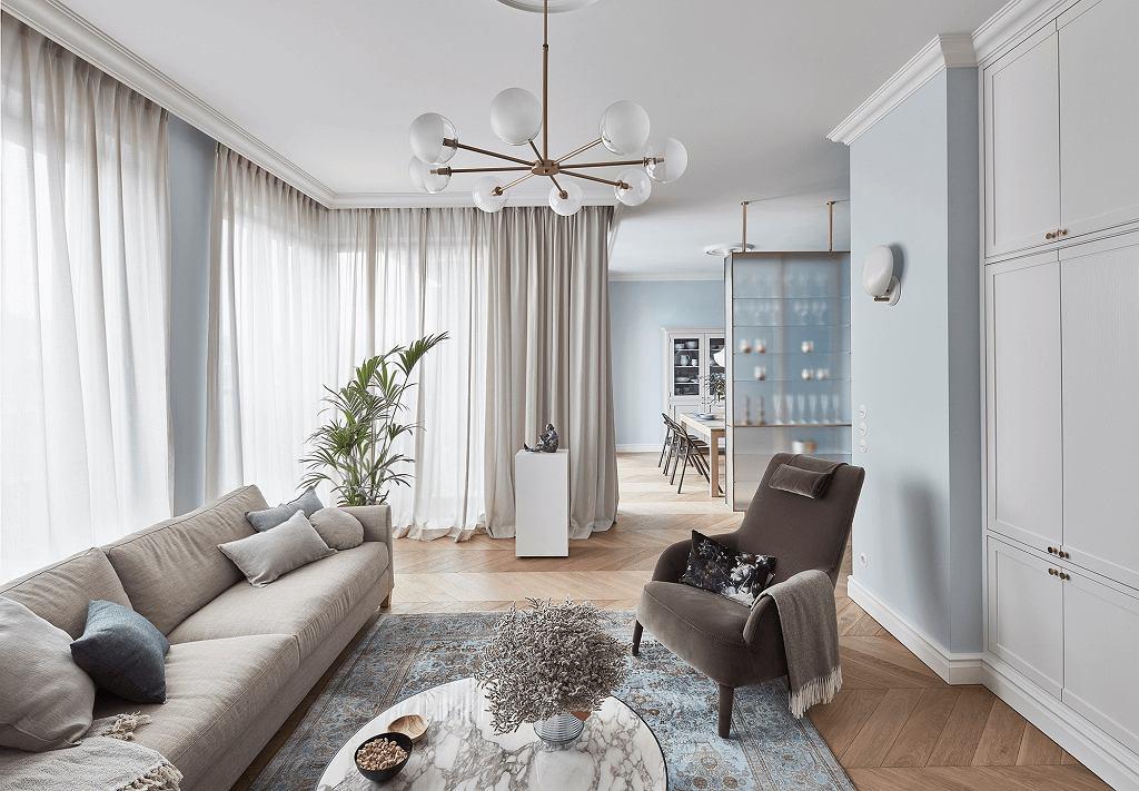 Classic modern - szykowne wnętrza poznańskiego apartamentu