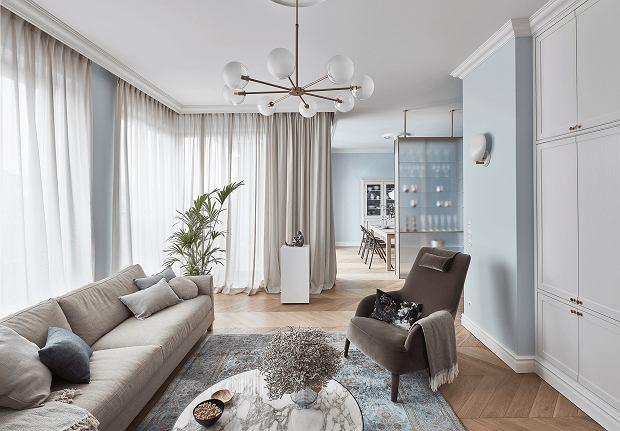 Classic Modern Szykowne Wnętrza Poznańskiego Apartamentu