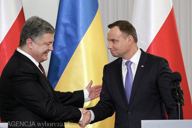 Wizyta prezydenta Ukrainy Petro Poroszenki z w Polsce