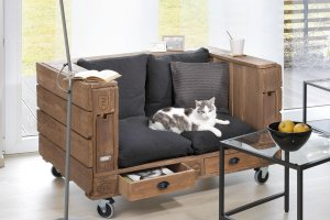 Zrób to sam: sofa z europalety