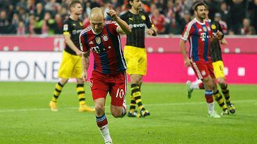 Bayern - Borussia. Arjen Robben