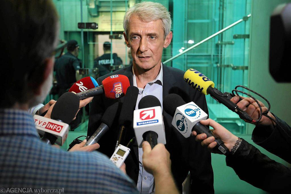 Rzecznik Sądy Najwyższego Michał Laskowski (Fot. Sławomir Kamiński / Agencja Gazeta)