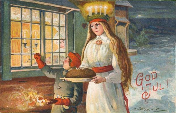 13 grudnia: Dzień św. Łucji, szwedzkie święto światła w najkrótszy dzień roku