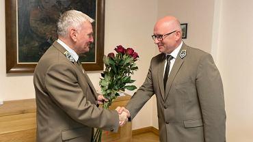 Andrzej Konieczny (po prawej)