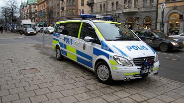 Szwedzka policja. Zdjęcie ilustracyjne