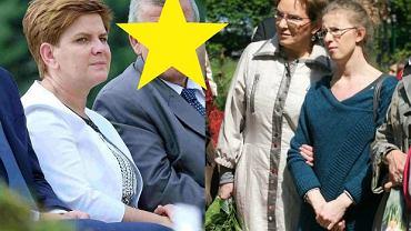 Beata Szydło z mężem, Ewa Kopacz z córką