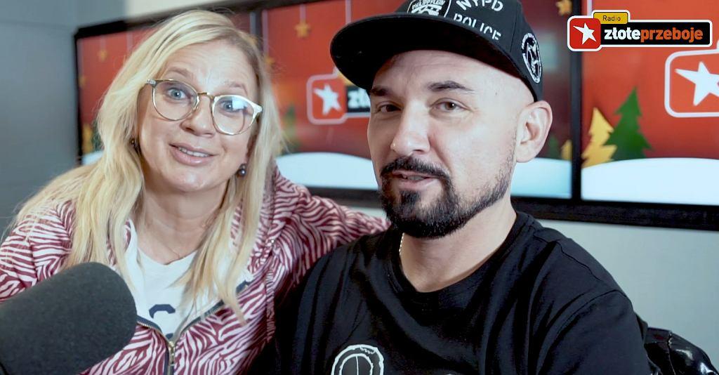 Patryk Vega i Marzena Rogalska