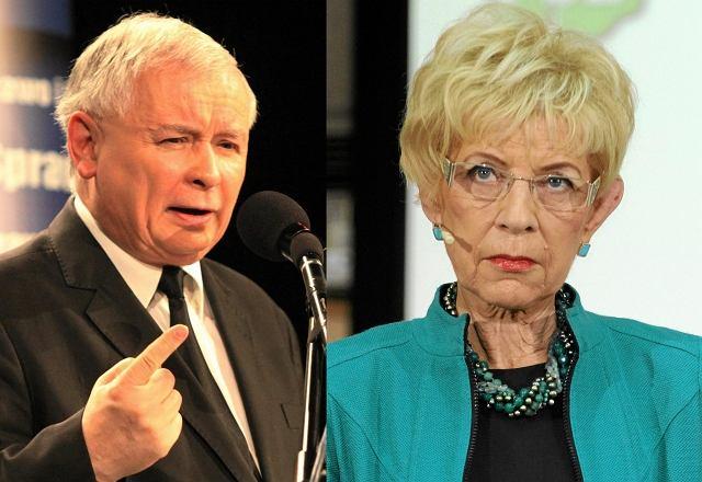 Jarosław Kaczyński, Janina Paradowska