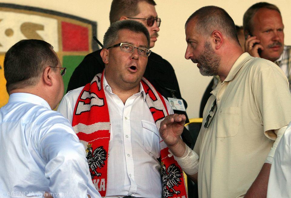 Ryszard Czarnecki na trybunach