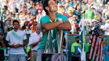 Rafael Nadal triumfuje w Indian Wells