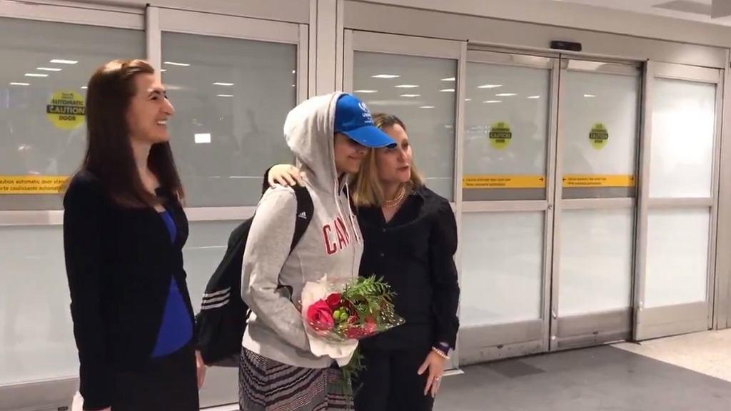 18-letnia Saudyjka Rahaf Mohammed Alkunun wylądowała w Kanadzie
