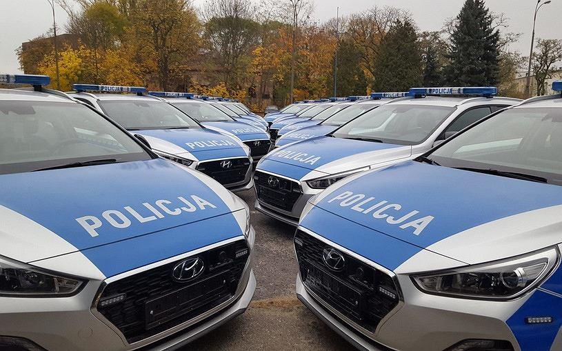 Policyjne Hyundaie i30