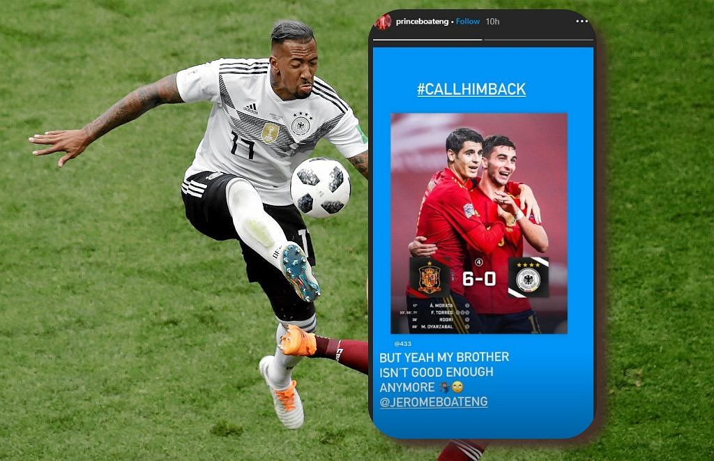 Niemcy rozgromieni przez Hiszpanów. Oezil i Kevin Prince Boateng domagają się powrotu gwiazdy