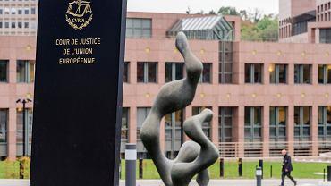 Trybunał Sprawiedliwości Unii Europejskiej. Luksemburg. Zdjęcie ilustracyjne