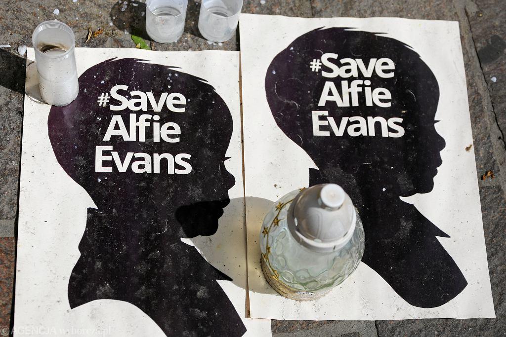 Alfie Evans. Pogrzeb chłopca odbędzie się dzisiaj