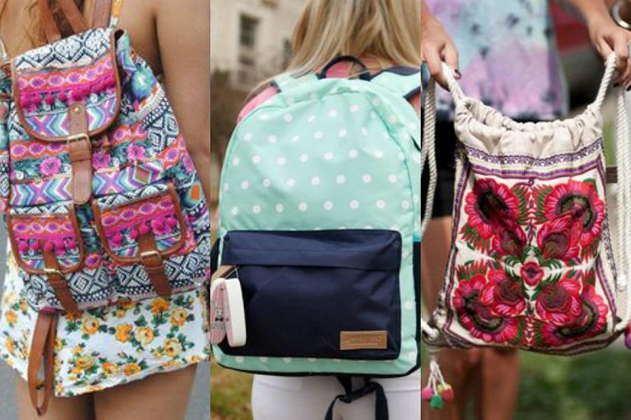 Plecaki we wzory