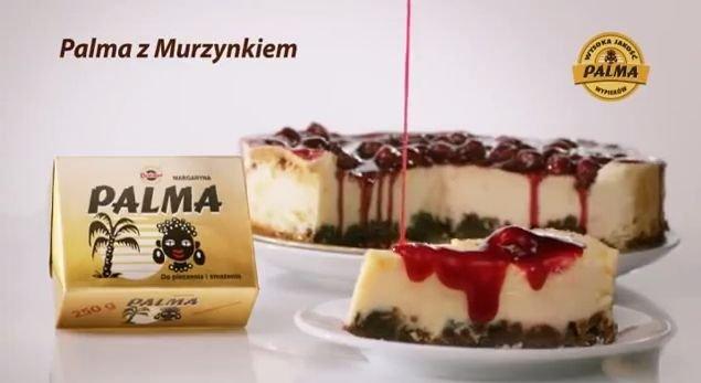 Reklama margaryny Palma z
